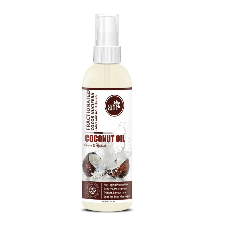 AromaMusk 100% Natural & Pure Fractionated Coconut Oil
