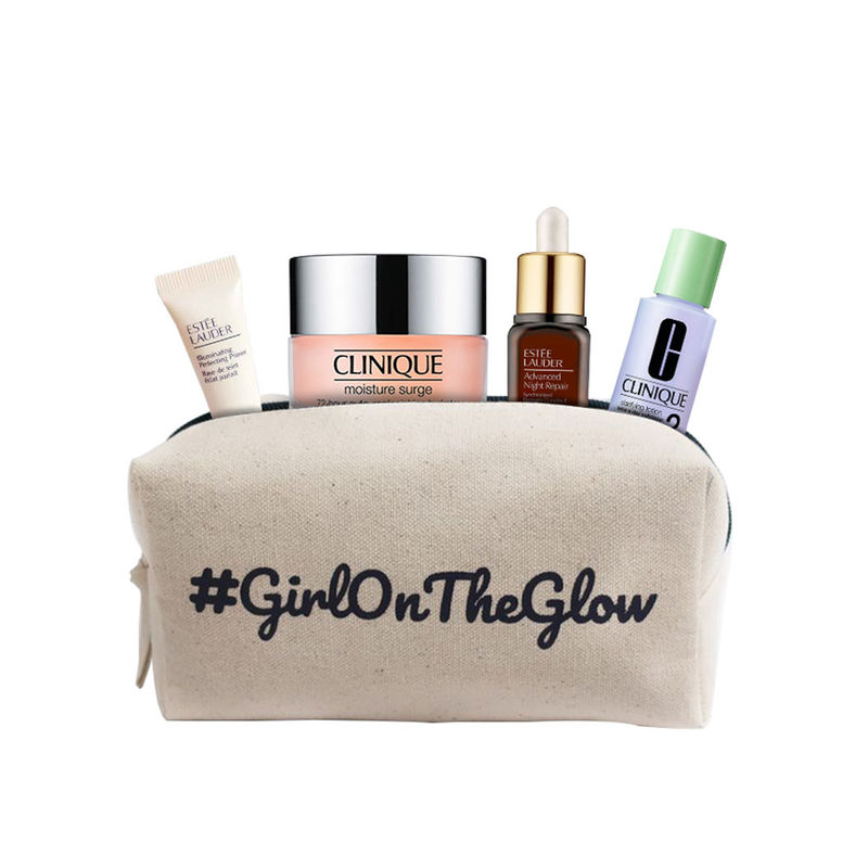 30370909e96b Buy Estee Lauder Girl On The Glow 4-Piece Kit at Nykaa.com