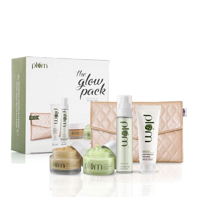 Plum Green Tea Glow Pack Gift Set
