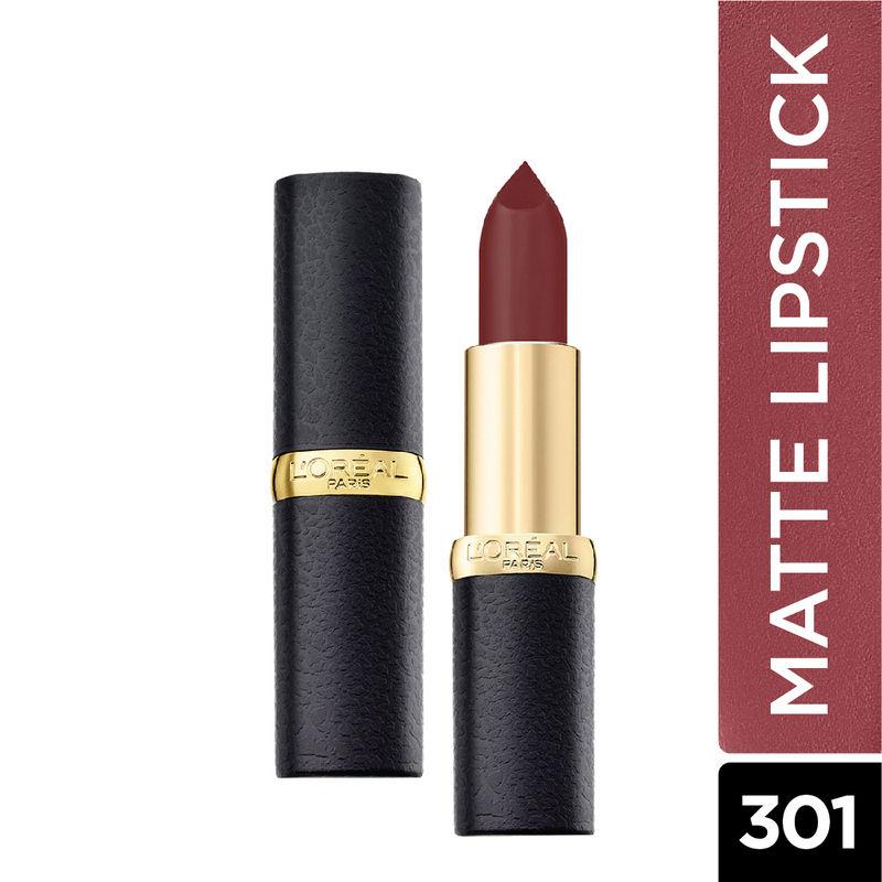 L'Oreal Paris Color Riche Moist Matte Lipstick   301 Rosewood Forest
