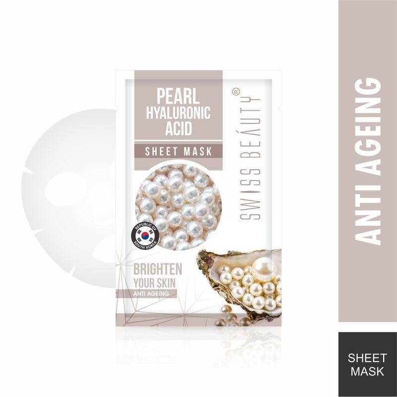 Swiss Beauty Pearl & Hyaluronic Sheet Mask