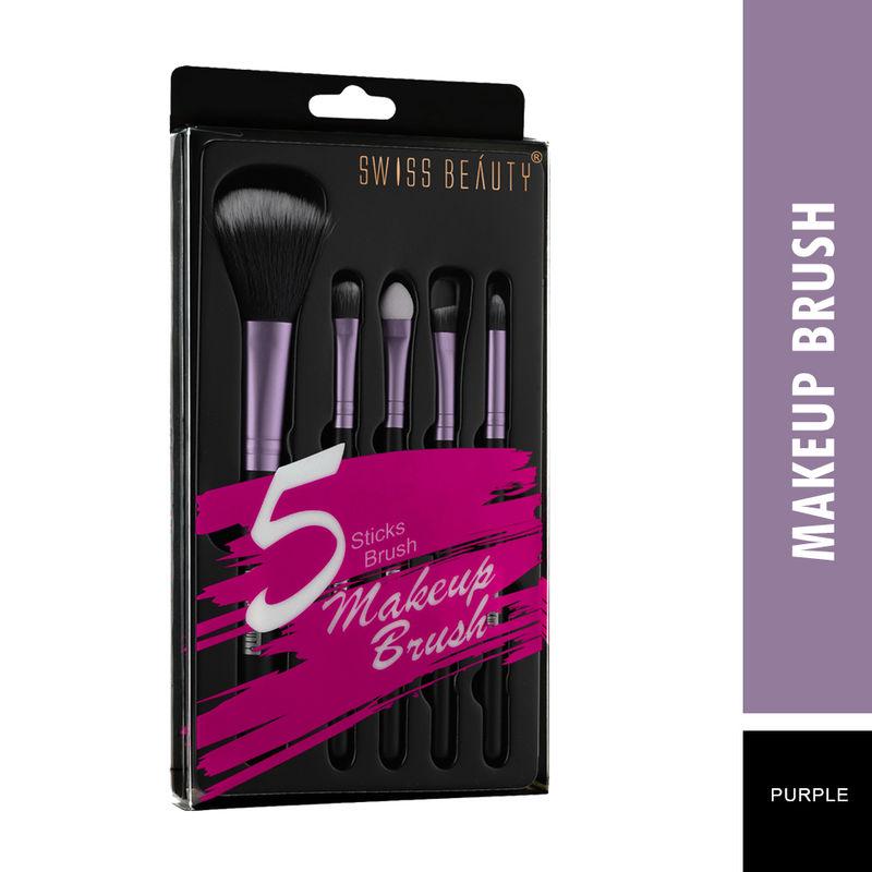 Swiss Beauty Makeup Brushes   Purple