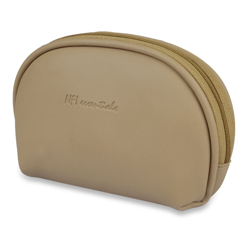 NFI Essentials Cosmetic Pouch Peach Makeup Pouches And Vanity Kits