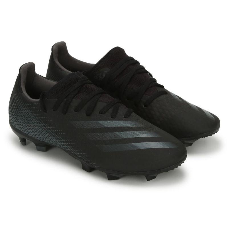 adidas X 20.3 Fg Black Football Shoes - UK 9