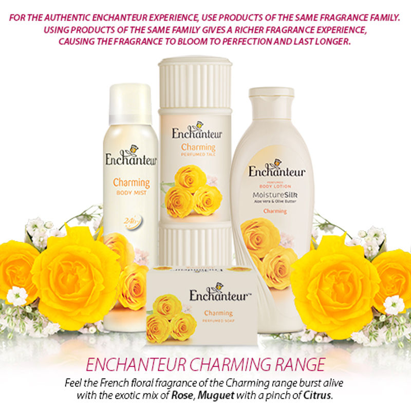 Enchanteur Charming Body Mist For Women(150ml)