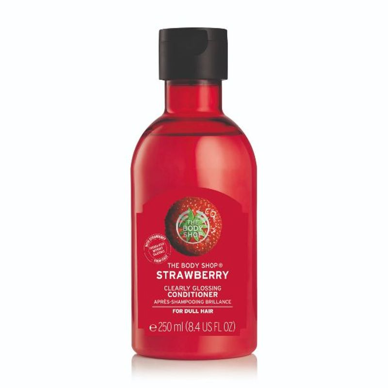 The Body Shop Strawberry Clearly Glossing Conditioner(250ml)