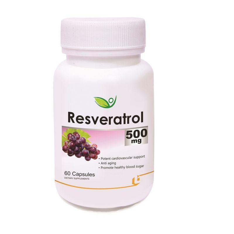 Biotrex Resveratrol 500mg 60 Capsules Buy Online In Tunisia