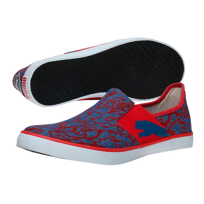 Puma Lazy Slip On Gu IDP Unisex Blue Loafers
