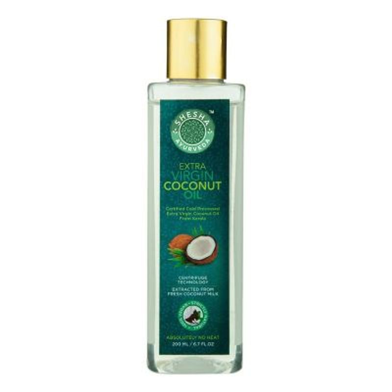Shesha Ayurveda Extra Virgin Coconut Oil From Kerala