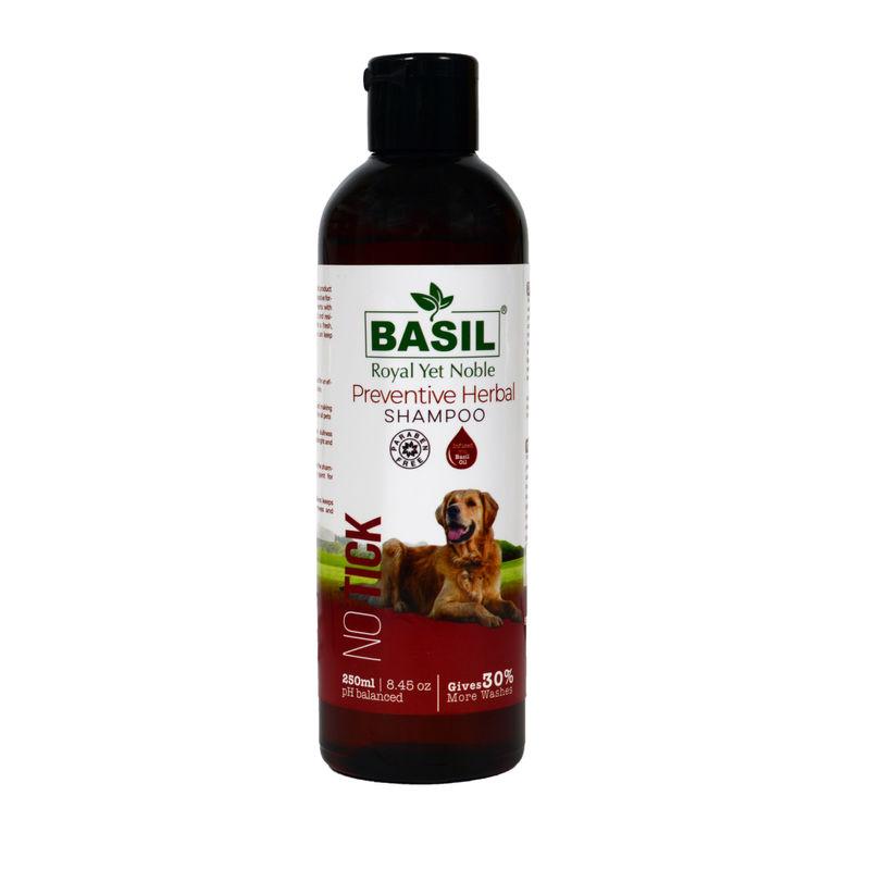 BASIL No Tick Preventive Shampoo for Dogs