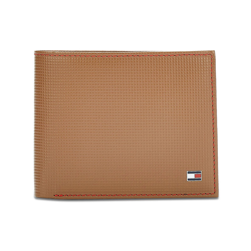 Tommy Hilfiger Romont Plus Mens Leather Multicard Coin Wallet Tan  8903496116533