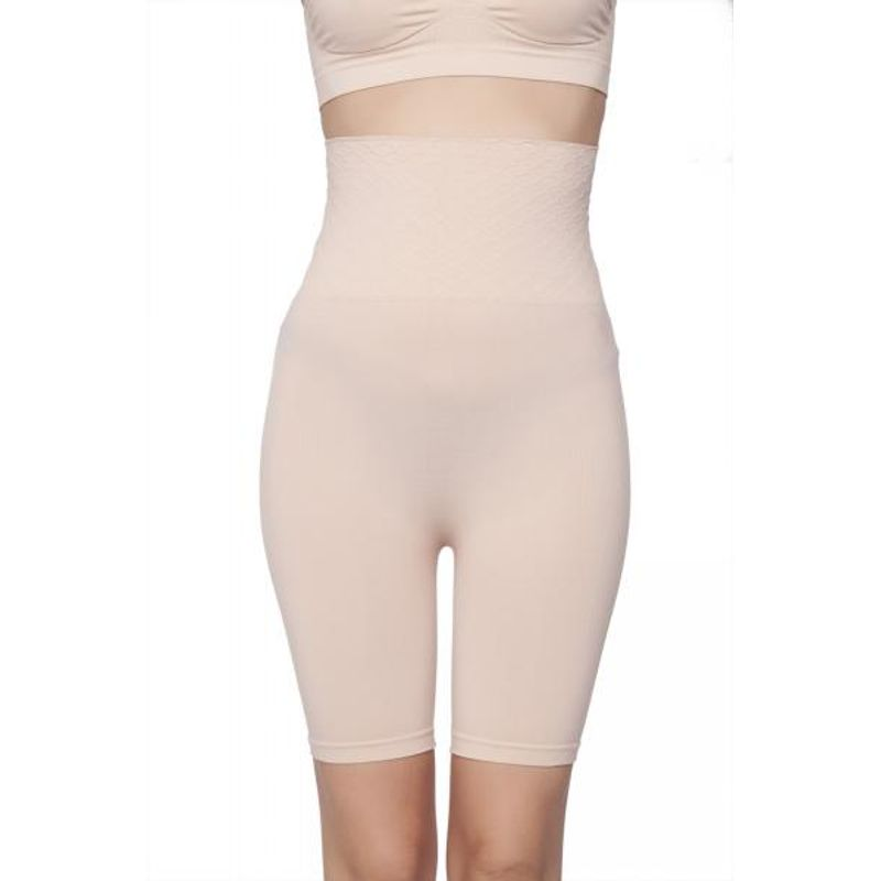 f388406a3c75c C9 Seamless Women Solid Nude Thigh Shapewear - Nude (XL) at Nykaa.com