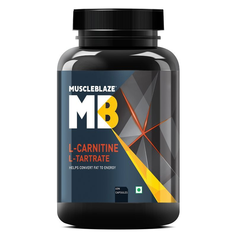 MuscleBlaze L Carnitine L Tartrate Capsules