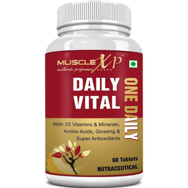 MuscleXP Daily Vital  One Daily  Multi Vitamin   60 Tablets
