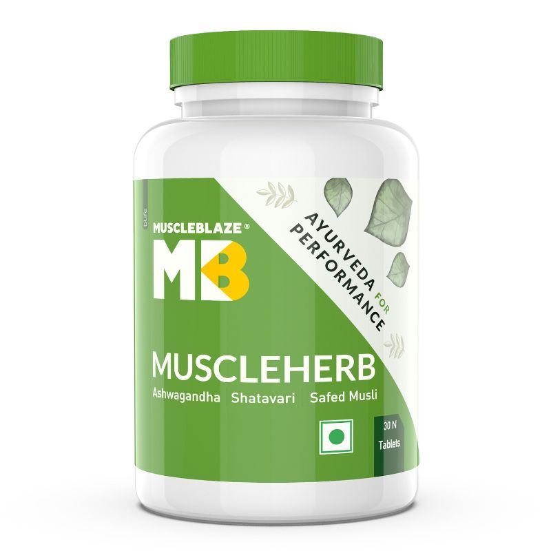 MuscleBlaze Ayurveda Tablets For Muscle Gain