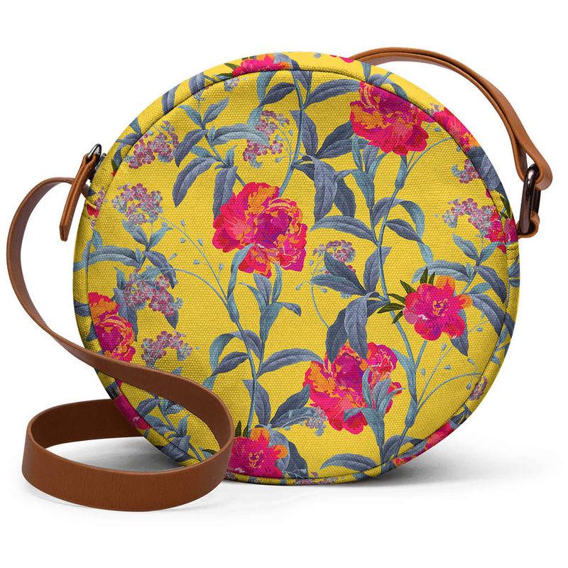 ca4ada677 DailyObjects Come Into Bloom - Orbis Crossbody Hand Bag at Nykaa.com