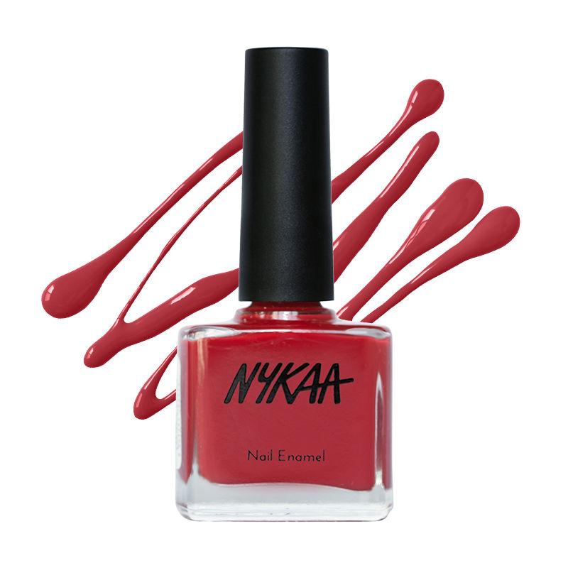 Nykaa Nail Enamel Polish - Crimson Carnation 131