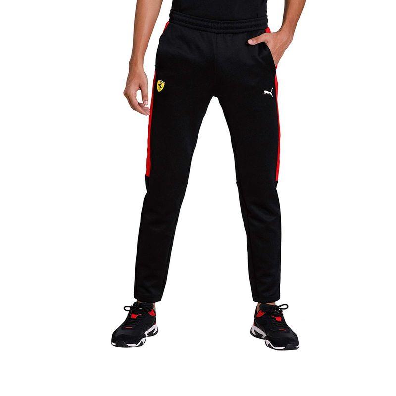 Puma Ferrari Race T7 Slim Fit Men's Track Pants - Black (S)