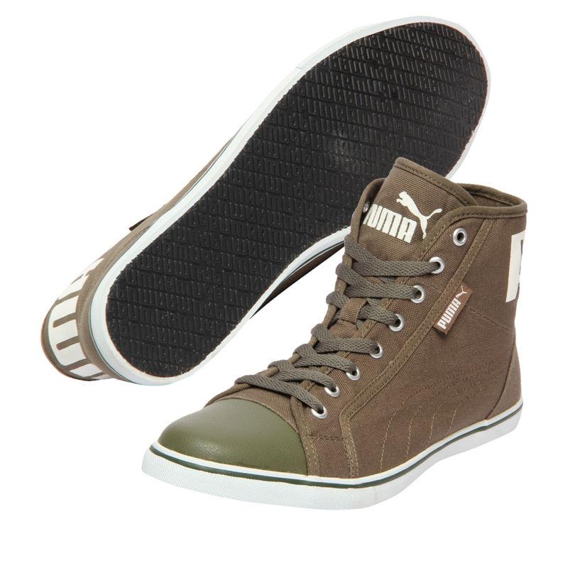 Puma Puma Streetballer Mid IDP Unisex Olive Sneakers