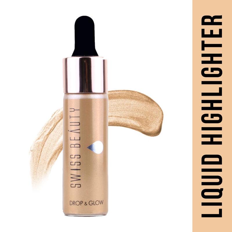 Swiss Beauty Drop and Glow Liquid Highlighter - 02 Gold
