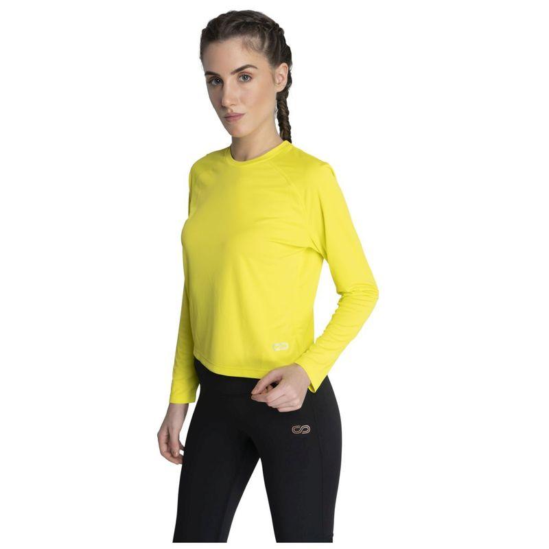Silvertraq Women's Aero Long Sleeve Tee - Green (S)