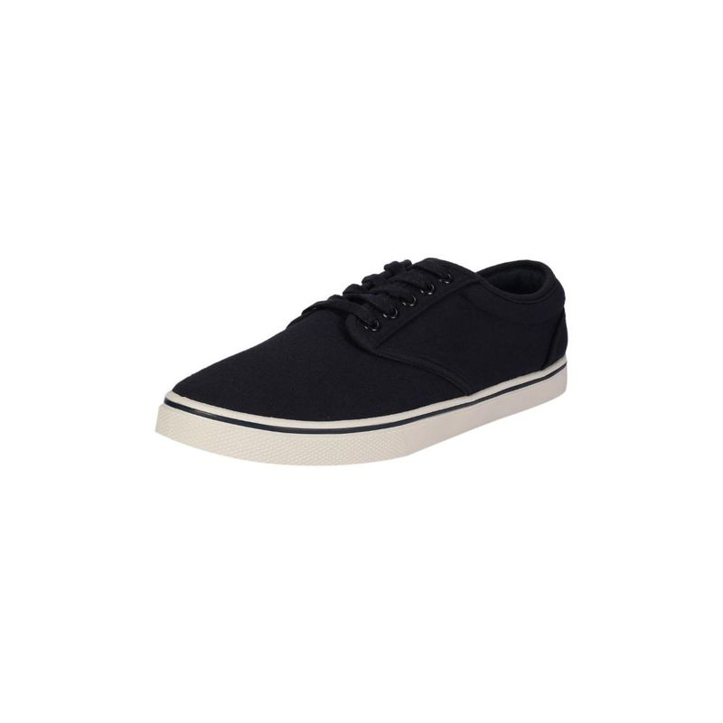 Peter England Navy Canvas Shoes - UK 7