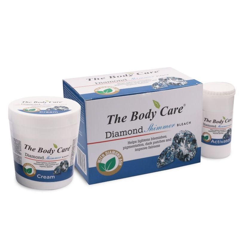 The Body Care Diamond Shimmer Bleach Cream