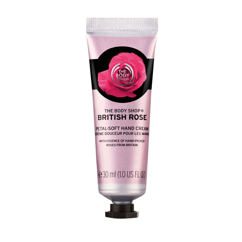 The Body Shop British Rose Petal Soft Hand Cream