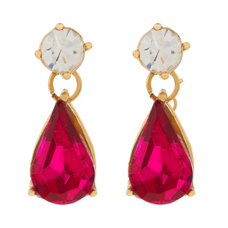 Accessorize London Mini Kylie Short Drops Earrings