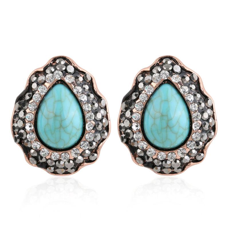 YouBella Stylish Party Wear Jewellery Earrings Alloy Stud Earring