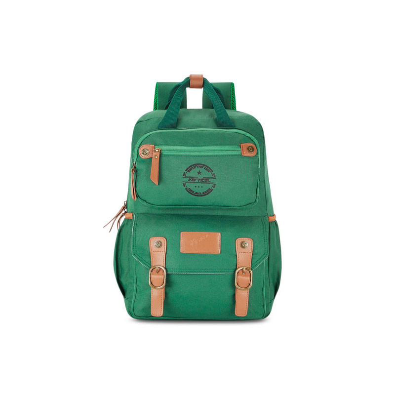 The Vertical Panache Laptop Backpack Green