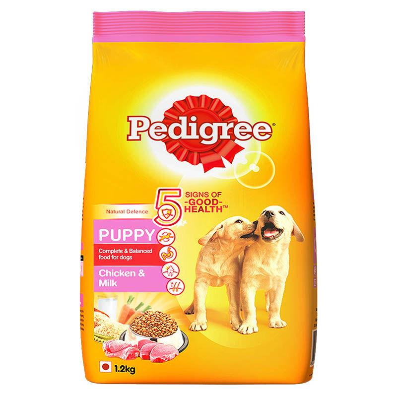 Pedigree Puppy Dry Dog Food Food, Chicken & Milk