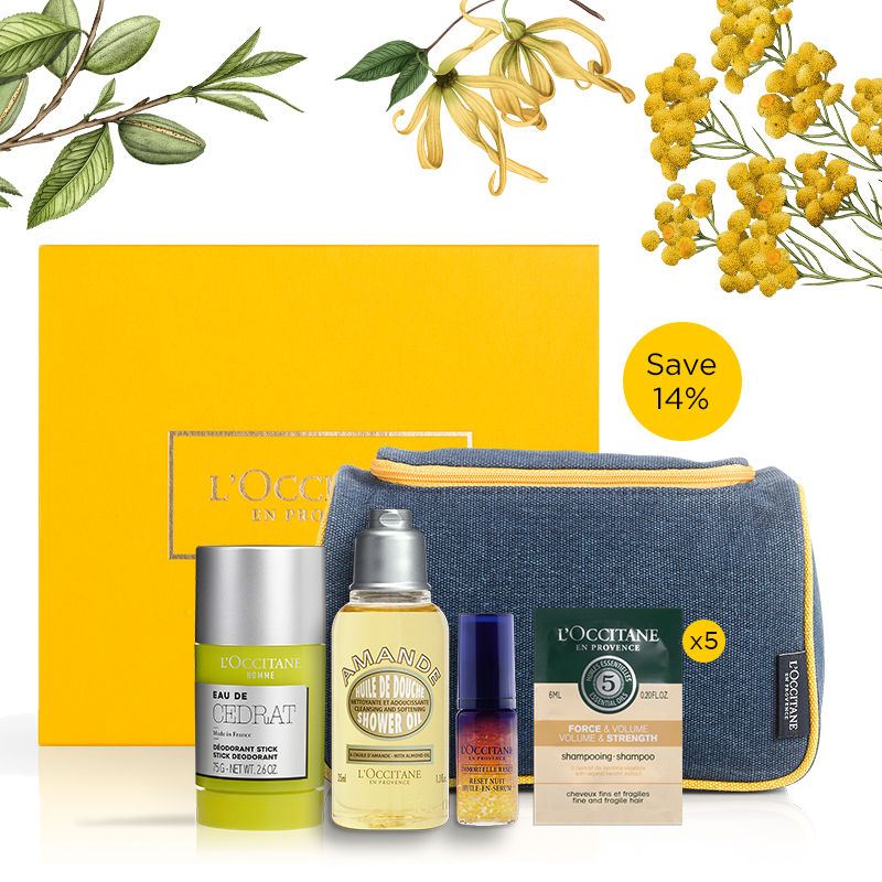 L'Occitane Men's Grooming Collection