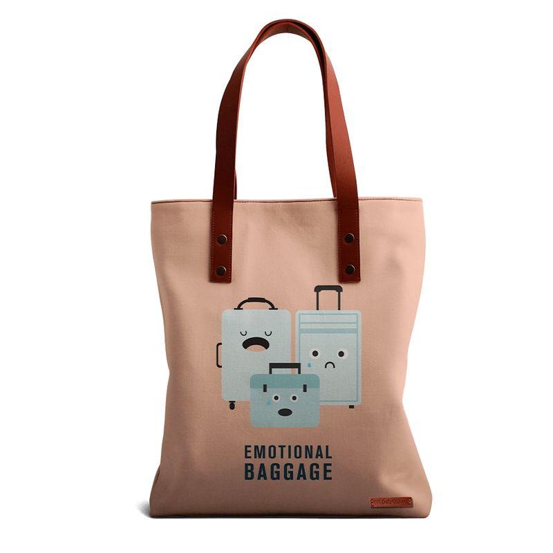 eb6fbbf0f DailyObjects Emotional Baggage Tote Bag at Nykaa.com