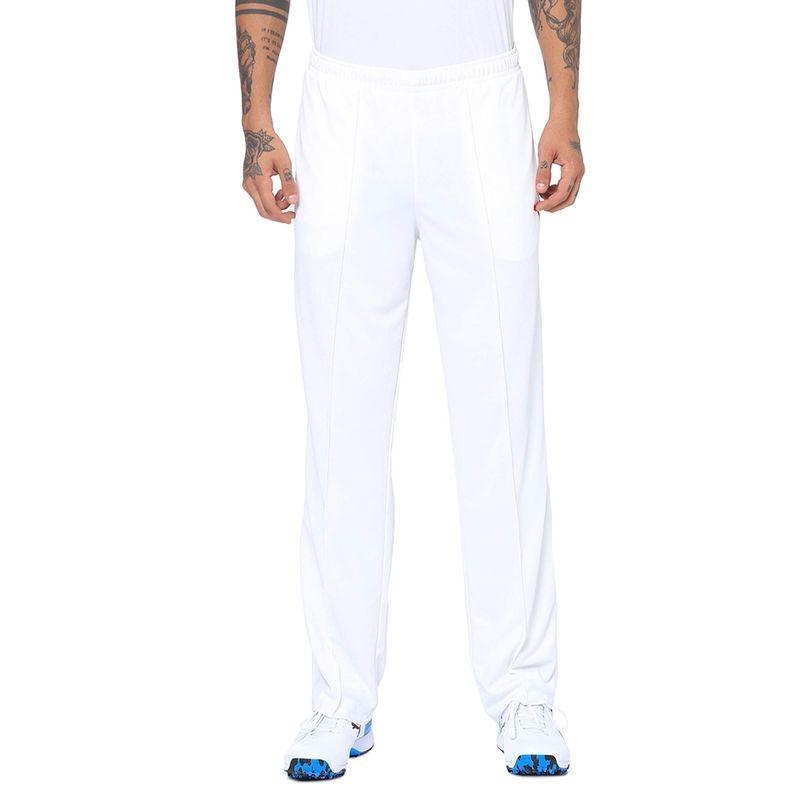 Puma Birch Cricket Team Knit Pants - White (XS)