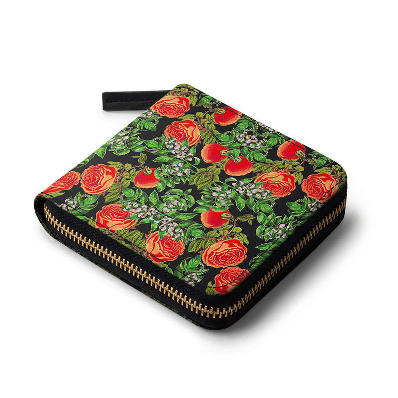 6641046c3e DailyObjects Floral Tomato Zip Wallet at Nykaa.com