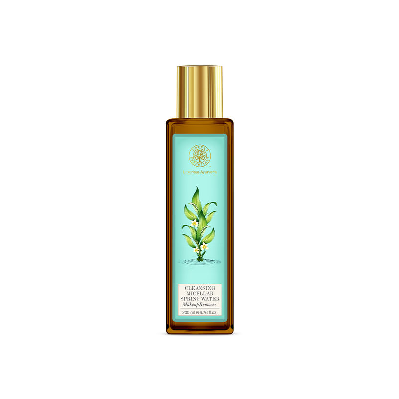 Forest Essentials Cleansing Micellar Spring Water Makeup Remover
