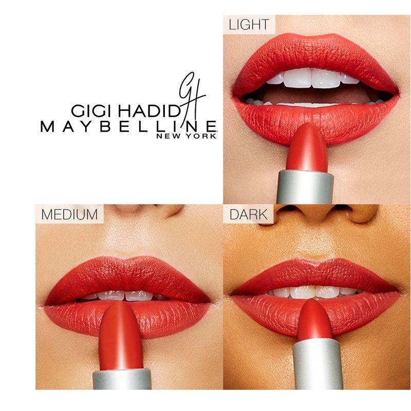 Maybelline New York Gigi Hadid Color Sensational Lipstick Austyn