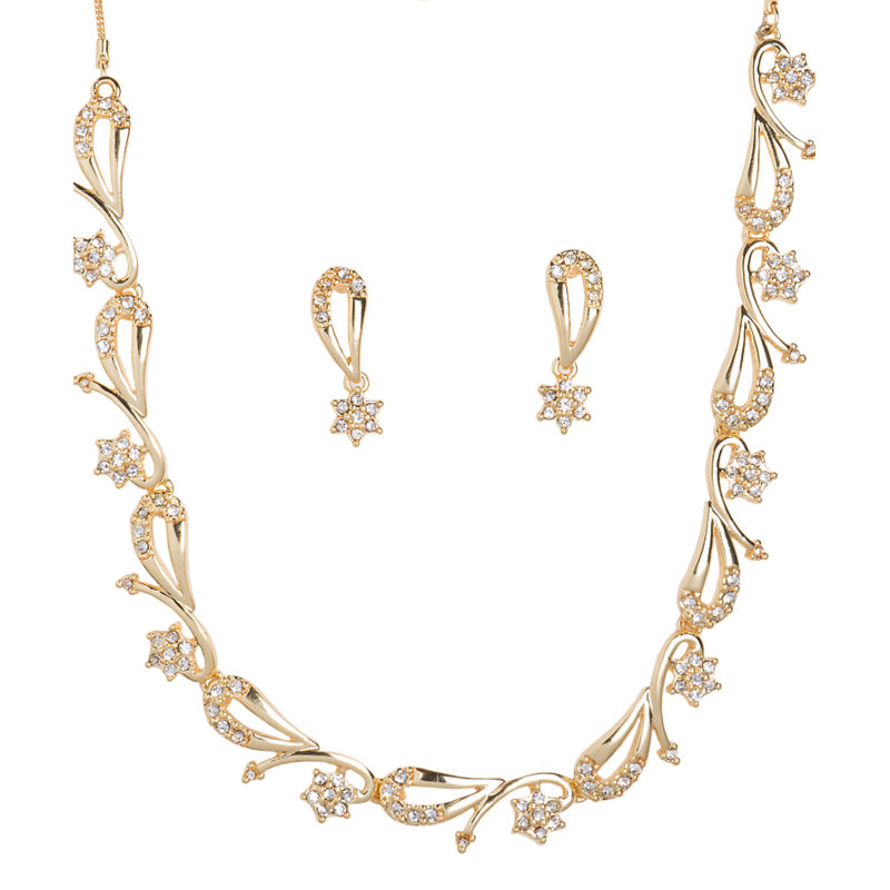 ec7f4e622 Golden Peacock Gold-Plated Jewellery Set at Nykaa.com