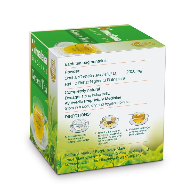 Himalaya Herbals Green Tea - 10 Tea Bag(2gm Each)(2gm Each)
