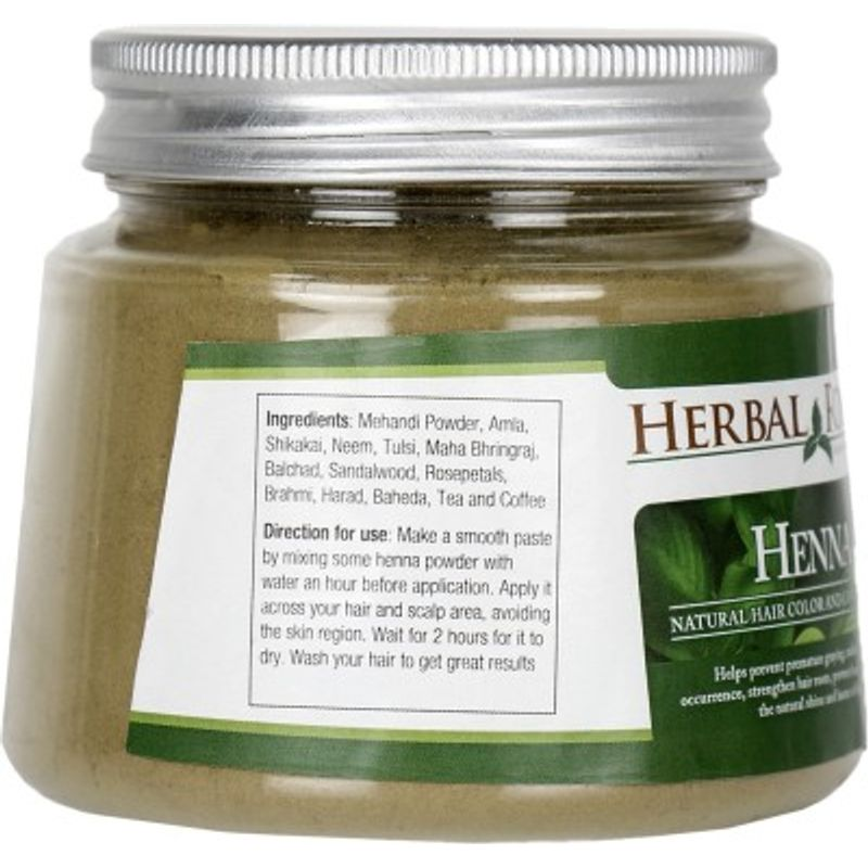 b5ed23203 Herbal Roots Herbal Henna Powder - Natural Hair Color And Conditioner at  Nykaa.com