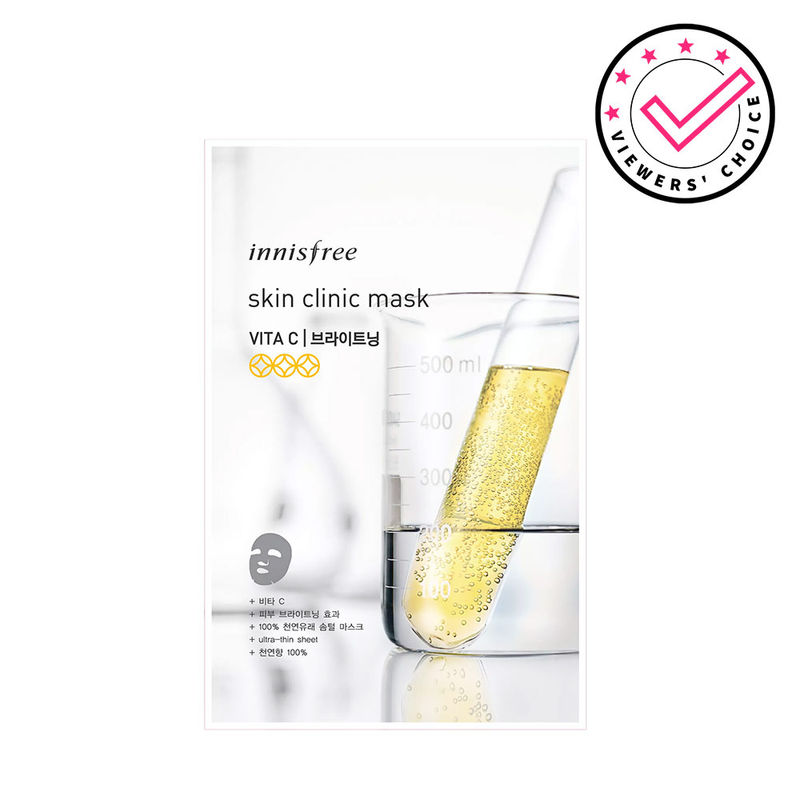 Innisfree Skin Clinic Sheet Mask - Vita C