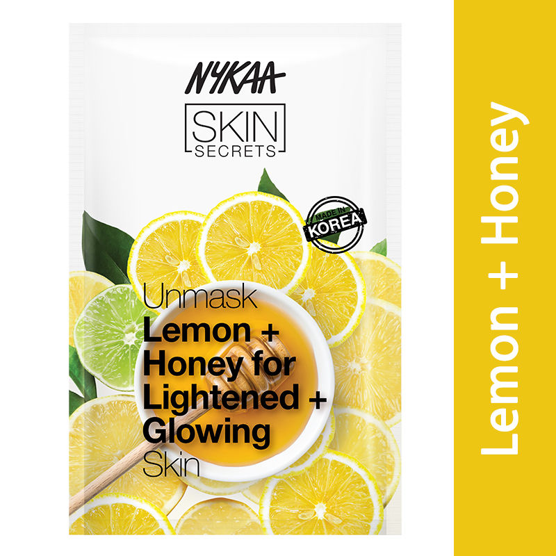 Nykaa Skin Secrets Lemon + Honey Sheet Mask
