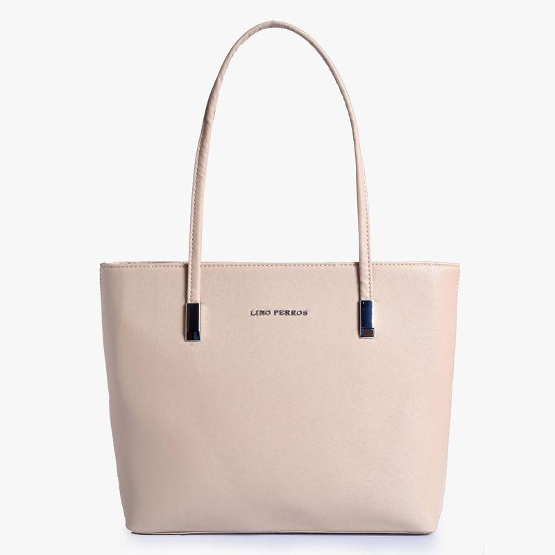 ddf06cb1eb591 Lino Perros Beige Leatherette Handbag at Nykaa.com