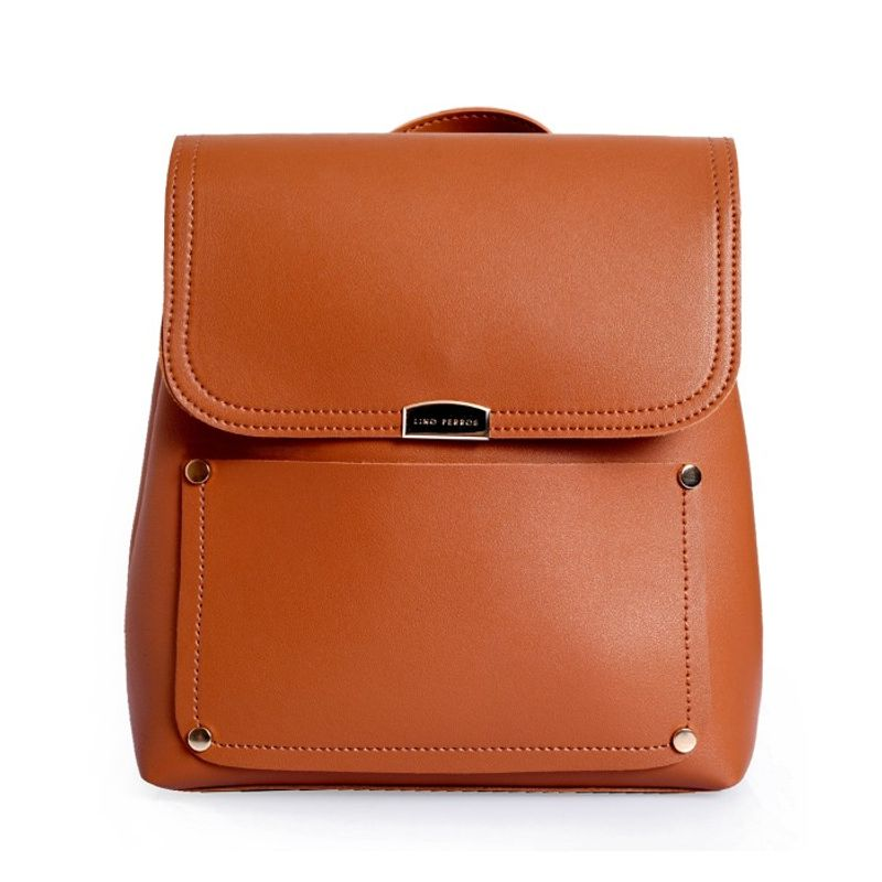 c8eefd791 Lino Perros Faux Leather Brown Handbag at Nykaa.com