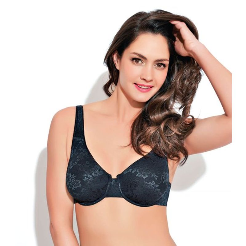 4be14079065 Enamor Underwired Non Padded Bra - Black (36D) at Nykaa.com