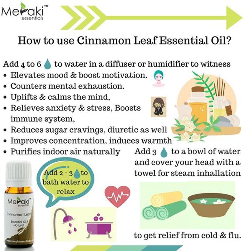 Meraki Essentials Cinnamon Leaf Essential Oil(10ml)