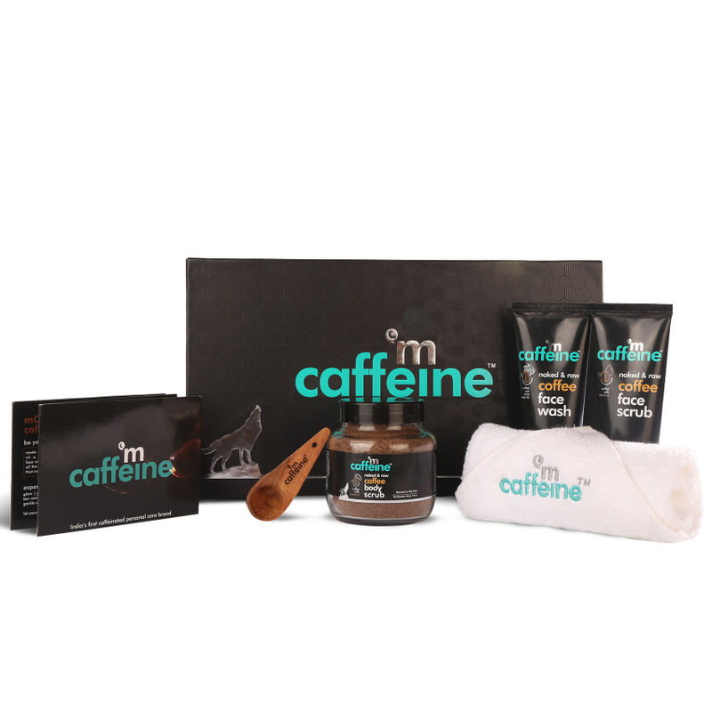 MCaffeine Coffee Moment Skin Care Gift Kit