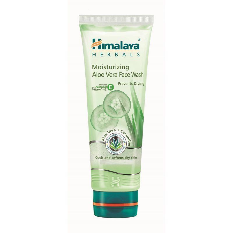 d4def081cdad Himalaya Herbals Moisturizing Aloe Vera Face Wash(100ml)