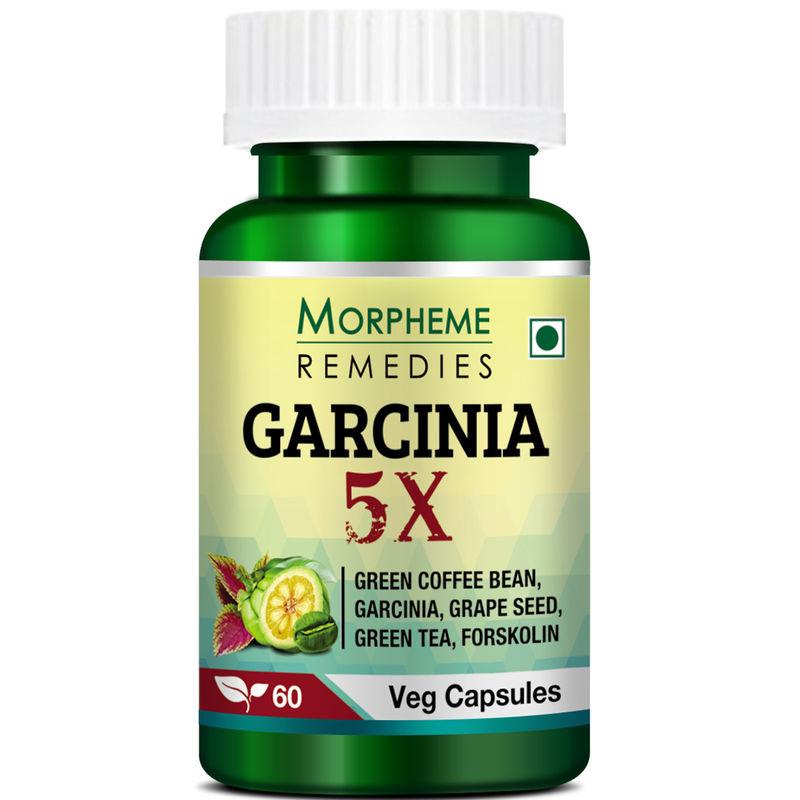 Morpheme Remedies Garcinia 5X   Garcinia, Coffee, Green Tea, Forskolin, Grape Seed